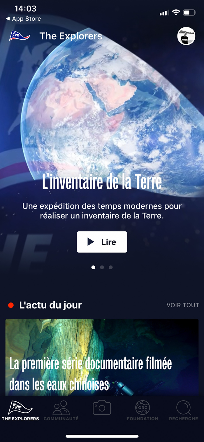 The Explorers app 1