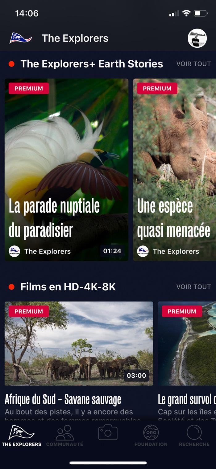 The Explorers app 3