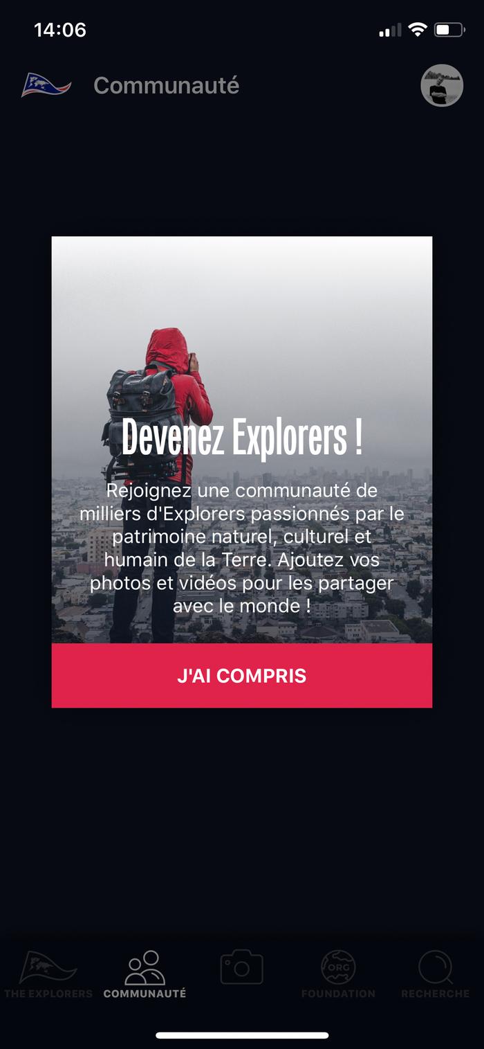 The Explorers app 4