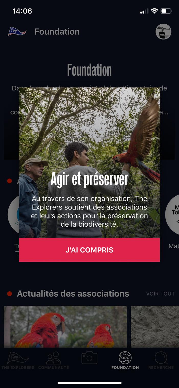 The Explorers app 5