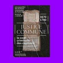 <cite>Justice Commune</cite> exhibition