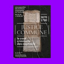 <cite>Justice Commune</cite> exhibition
