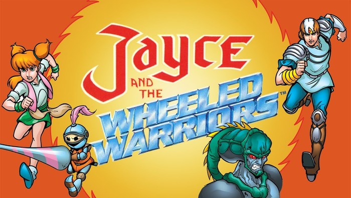Jayce and the Wheeled Warriors (1985) logo 1