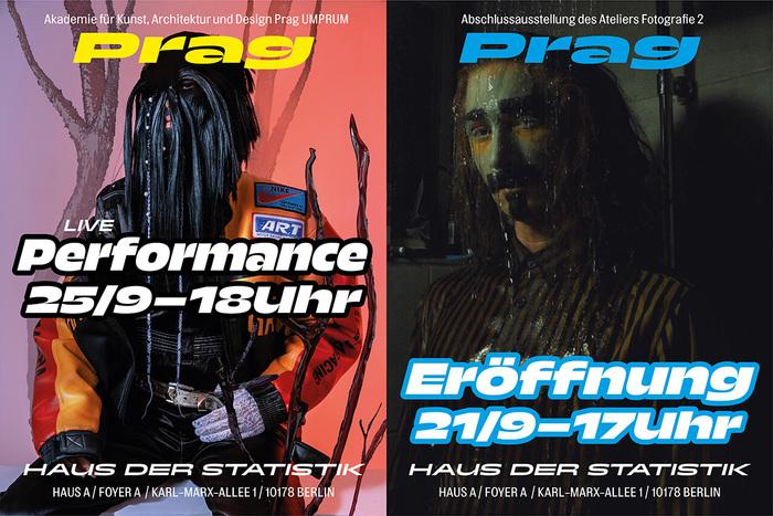 F2 Klauzury / Prag exhibition posters by Atelier F2 UMPRUM 3