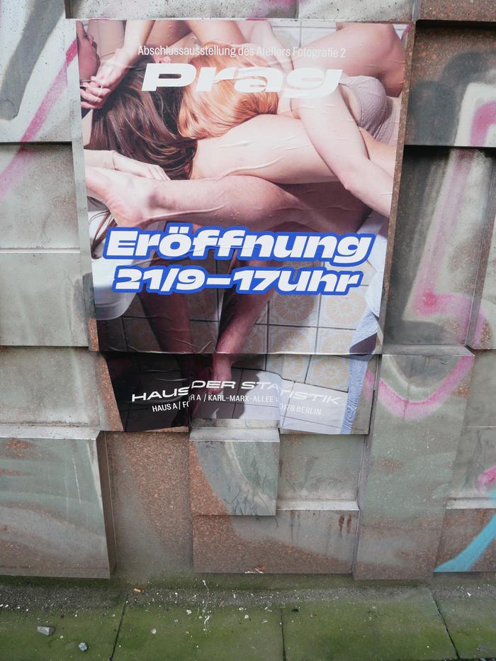 F2 Klauzury / Prag exhibition posters by Atelier F2 UMPRUM 4