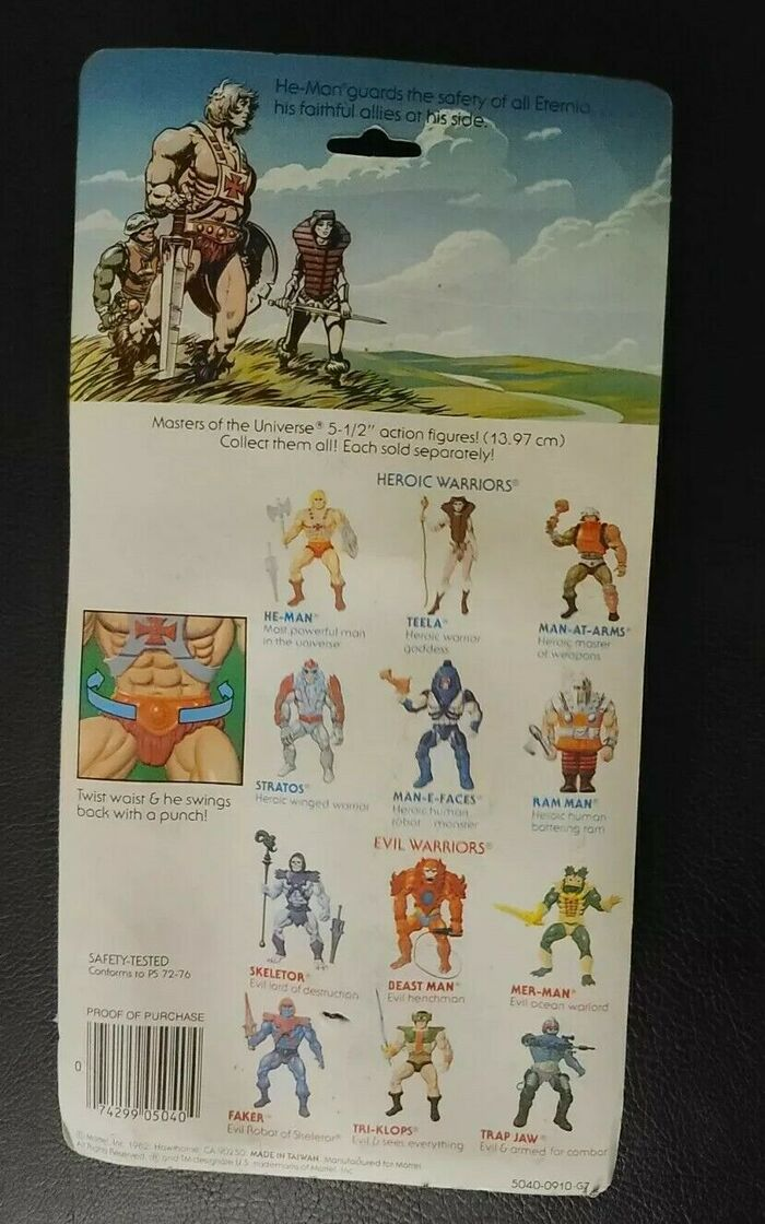 Masters of the Universe action figure packaging 2