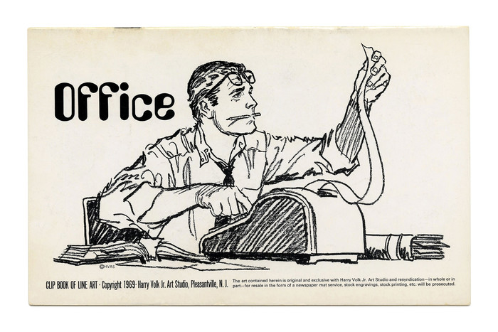 """Office"" (No. 180) ft. illustration by Tom Sawyer and the trendy ."