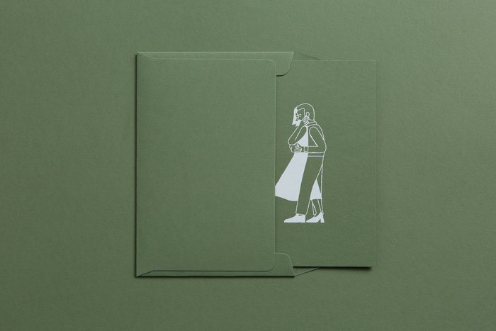Gabrielle & Pierce wedding invitation 2