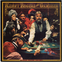 Kenny Rogers – <cite>The Gambler</cite> album art