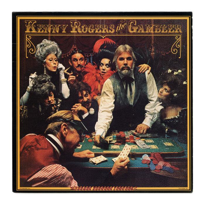 Kenny Rogers – The Gambler album art 1