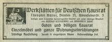 Werkstätten für Deutschen Hausrat ad (1906)