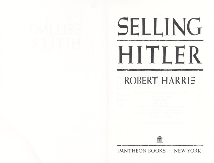 The title page features Weiß-Kapitale kräftig. This cut was added around 1950 to the series that started as  at the Bauer foundry in 1931.