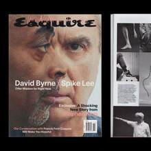<cite>Esquire</cite> magazine, September and October/November 2020