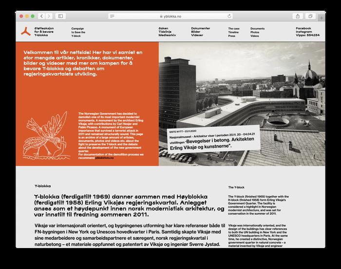 yblokka.no website (2020) 1