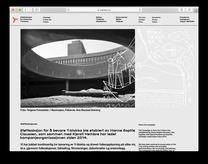 yblokka.no website (2020) 2
