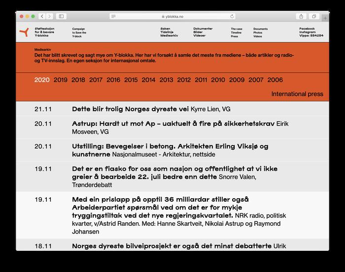 yblokka.no website (2020) 5