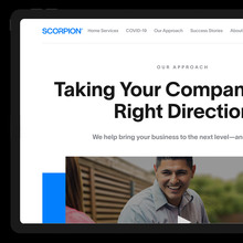 Scorpion Inc. website