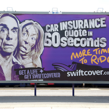 Swiftcover Iggy Pop ad campaign