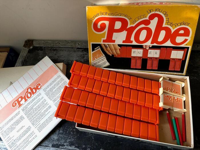 Probe board game (1976) 1