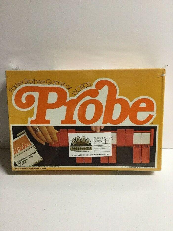 Probe board game (1976) 2
