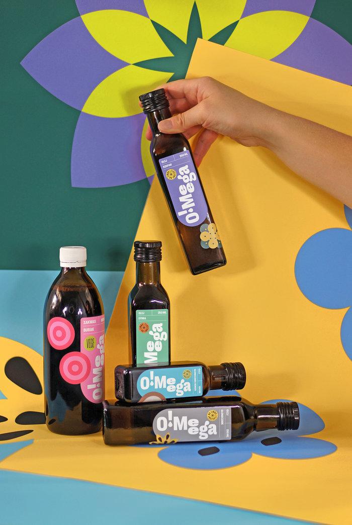 O!Meega brand identity 3