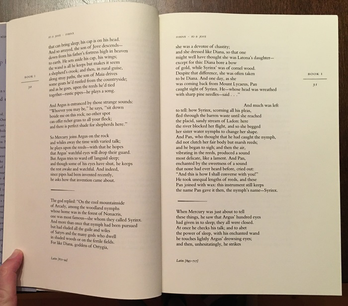 The Metamorphoses of Ovid translated by Allen Mandelbaum 3