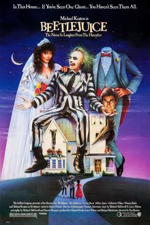 <cite>Beetlejuice</cite> (1988) movie poster