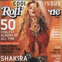 <cite>Rolling Stone</cite>, The Cool Issue, 2002