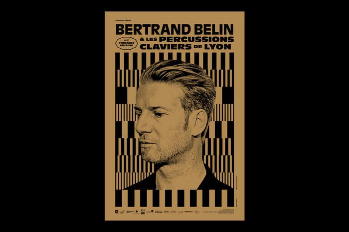 Bertrand Belin & Les Percussions Claviers de Lyon poster 1