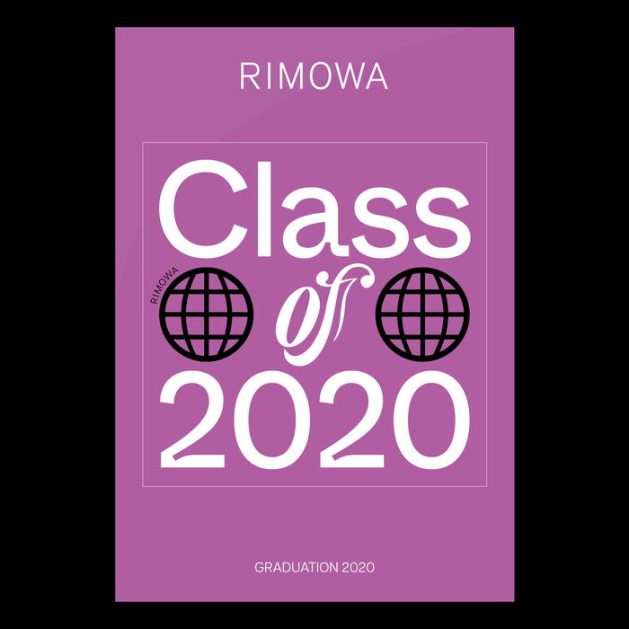 "Rimowa ""Graduation 2020"" sticker 2"