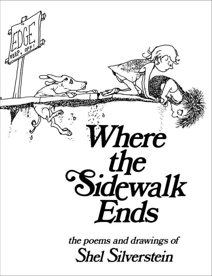 Where the Sidewalk Ends by Shel Silverstein 2