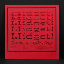 Midget! – <cite>Ferme tes jolis cieux</cite> (Objet Disque) album art