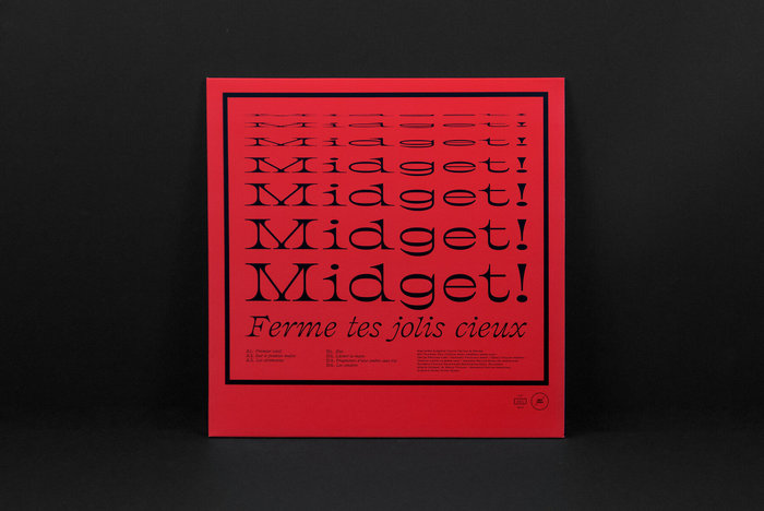 Midget! – Ferme tes jolis cieux (Objet Disque) album art 1