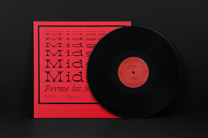 Midget! – Ferme tes jolis cieux (Objet Disque) album art 3