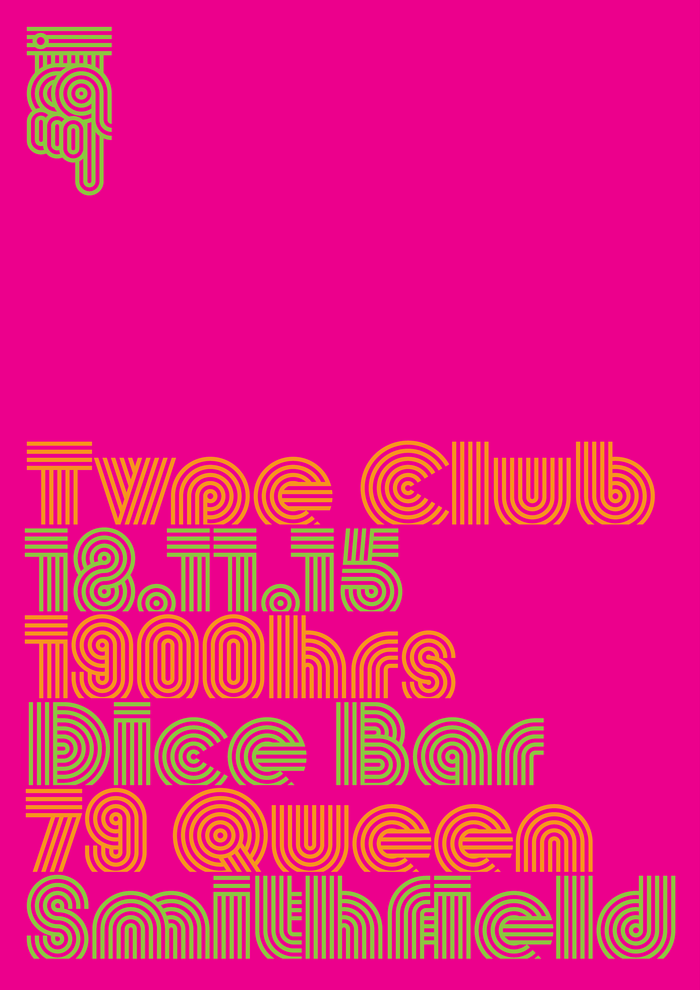 Type Club poster