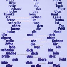 """Edition Onepage N°19, """"Gedicht gegen die Angst"""""""