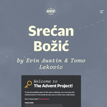 The Advent Project 2020 Calendar