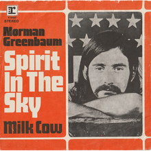 "Norman Greenbaum – ""Spirit in the Sky"" single cover"