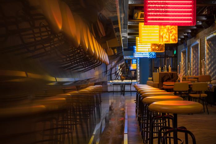 Prokhodnoye Mesto bar, Moscow 5