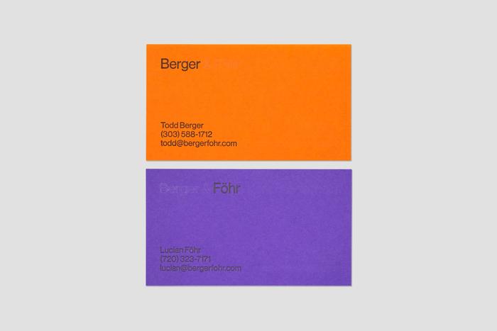 Berger & Föhr stationery 2