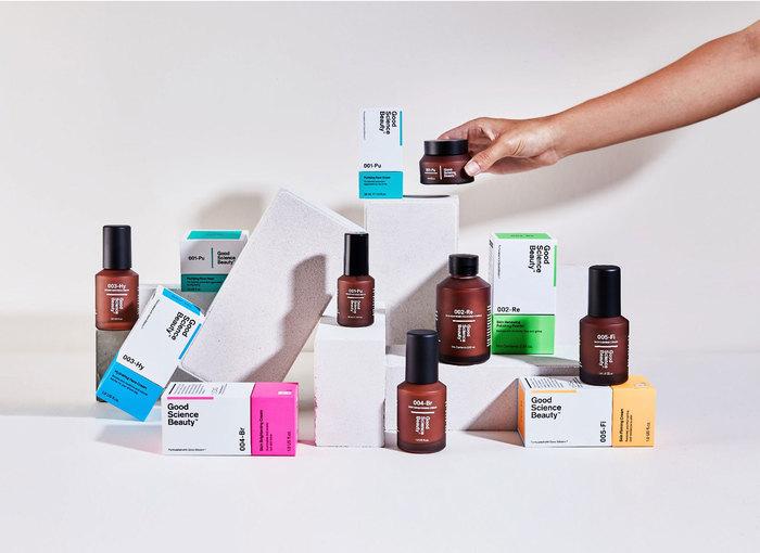 Good Science Beauty brand identity 1