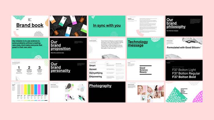 Good Science Beauty brand identity 6