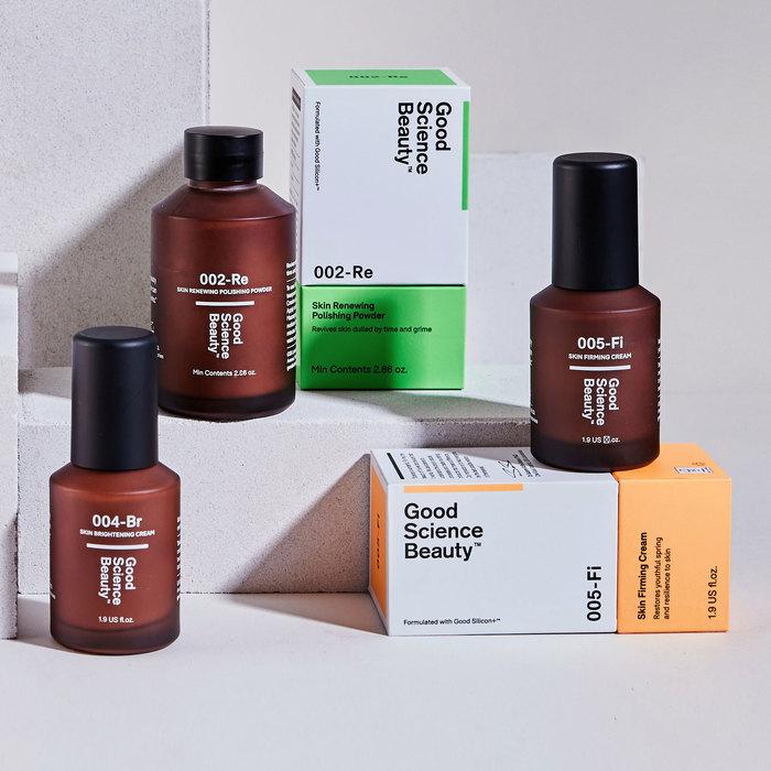 Good Science Beauty brand identity 3