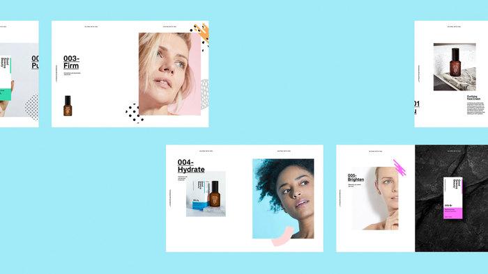 Good Science Beauty brand identity 7