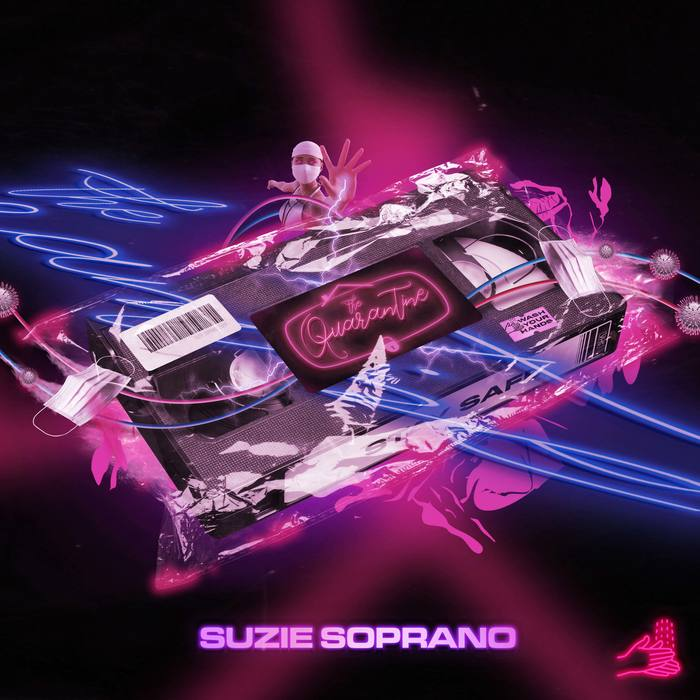 Suzie Soprano – The Quarantine EP cover 2