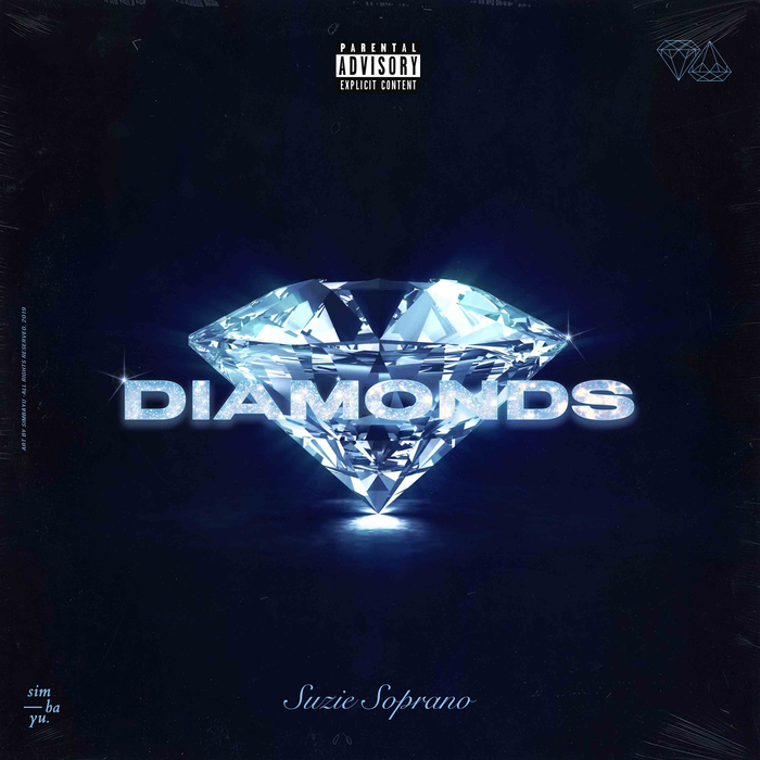 "Suzie Soprano – ""Diamonds"" single cover"