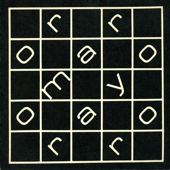 neretto largo (1962), caught in a grid.