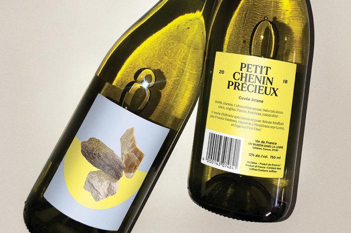 Petit Chenin Précieux wine label 1