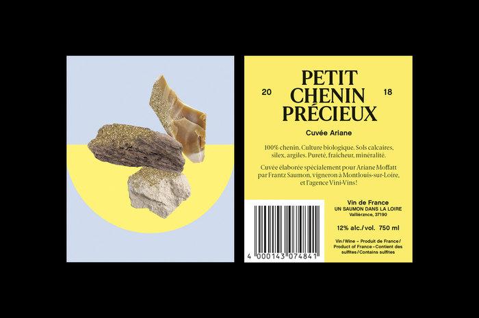 Petit Chenin Précieux wine label 3
