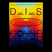 <cite>Disconnection</cite> exhibition poster